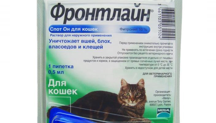 фронтлайн против ушного клеща у кошек