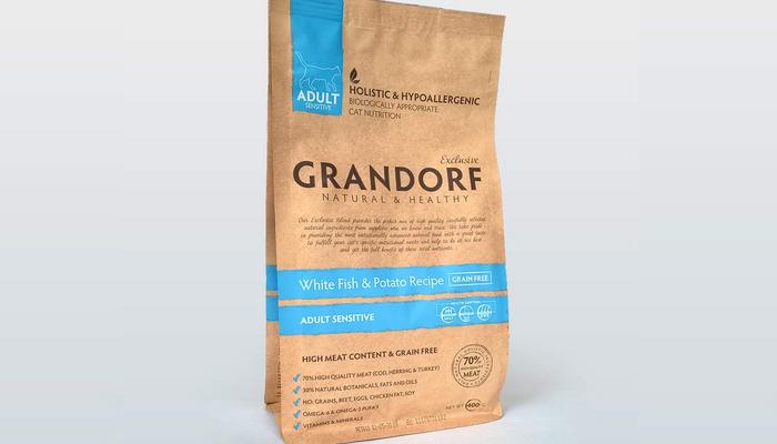 грандорф гипоаллергенный корм для кошек