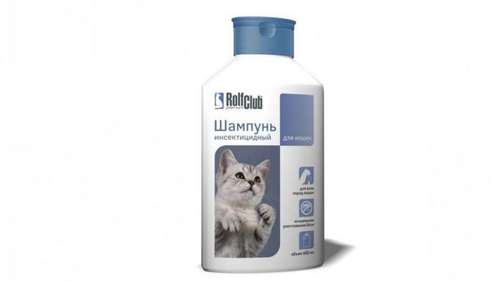 рольф клуб шампунь от блох для кошек