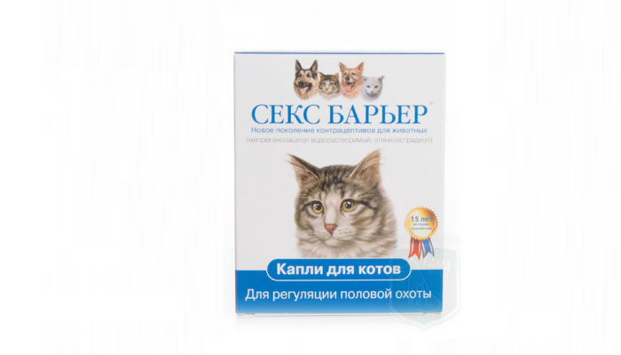 секс барьер при течке для кошки